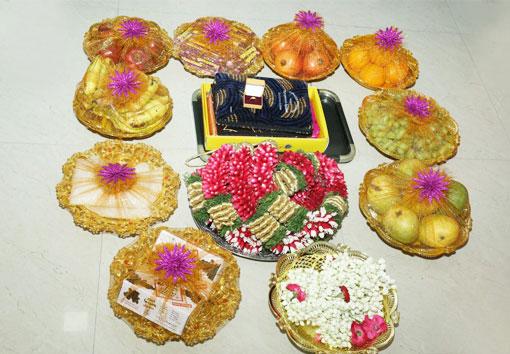 Seer Varisai Thattu Decoration Chennai Seer Varisai Plates